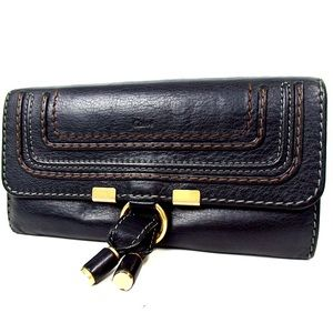 Authentic vintage CHLOE MERCY Black wallet FIRM